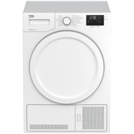 Beko DHY7340W 7kg A++ Freestanding Heat Pump Condenser Tumble Dryer - White
