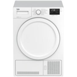 Beko DHY7340W 7kg Freestanding Heat Pump Condenser Tumble Dryer White