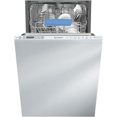 Indesit DISR57M96Z Slimline 10 Place Fully Integrated Dishwasher