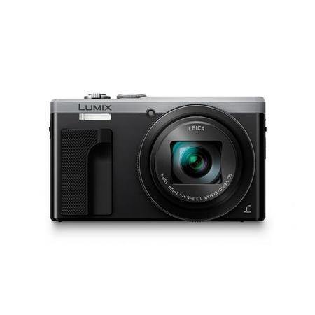 Panasonic DMC-TZ80 Camera Silver 18.1MP 30xZoom 3.0LCD 4K FHD 24mm LEICA DC