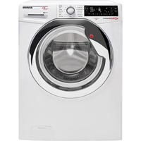Hoover DMP413AIW3 Dynamic Next Premium 13kg 1400rpm Freestanding Washing Machine - White With Chrome Door