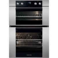 GRADE A2 - De Dietrich DOD1278X Multifunction Pyroclean Electric Built-in Double Oven - Stainless Steel