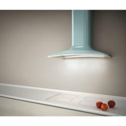 Elica DOLCE-AZ Decorative Chimney Cooker Hood 860mm Azure