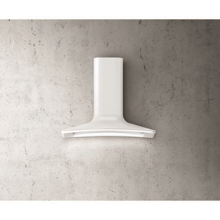 Elica DOLCE-WH Decorative Chimney Cooker Hood 860mm White