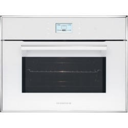De Dietrich DOM1195W Compact Height Built-in Combination Microwave Oven White Pearl