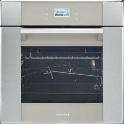 De Dietrich DOP1170GX Touch Control Multifunction Electric Oven With Pyroclean Grey Pearl