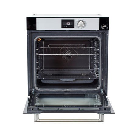 De Dietrich DOP7200BM Built-in Oven Multifunction Pyrolytic 73 Litre DX0 Display -  Full Glass