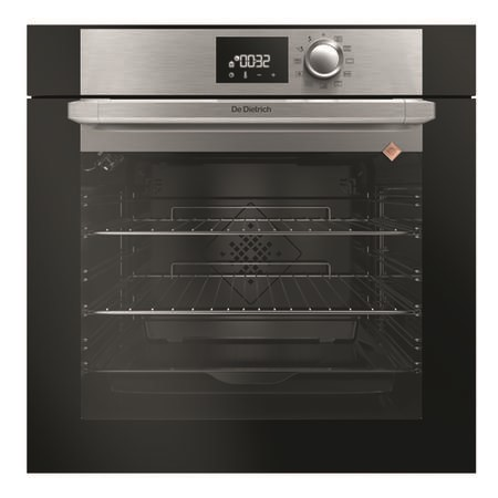 De Dietrich DOP7230X Built-in Oven Multifunction Pyrolytic 73 Litre DX0 Display -  Platinum