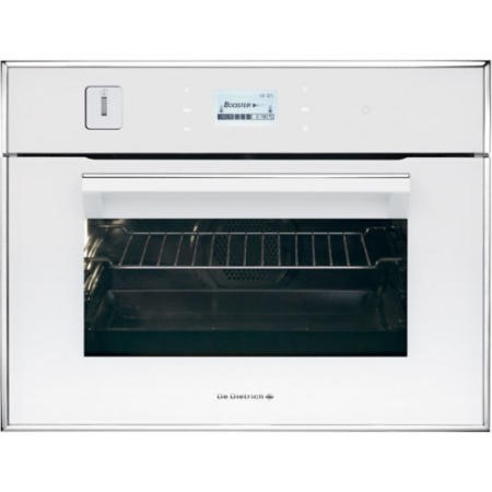 De Dietrich DOS1195W Touch Control Compact Height Steam Oven White Pearl
