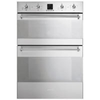 GRADE A1 - Smeg DOSC36X Classic Multifunction Electric Built In Double Oven - Stainless Steel