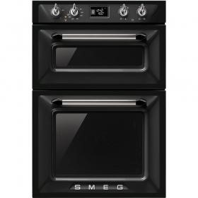 Smeg DOSF6920N Victoria Electric Built in Double Multifunction Oven Black