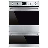 Smeg DOSP6390X 60cm Electric Built- in Multifunction Double Oven Stainless Steel