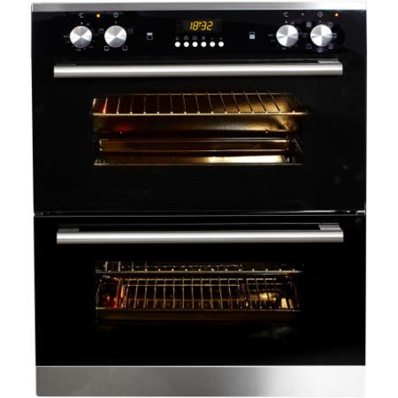 NordMende DOU313IX Stainless Steel Built Under Multifunction Double Oven