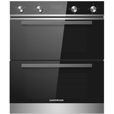 Nordmende DOU415IX Built Under Multifunction Double Oven - Stainless Steel