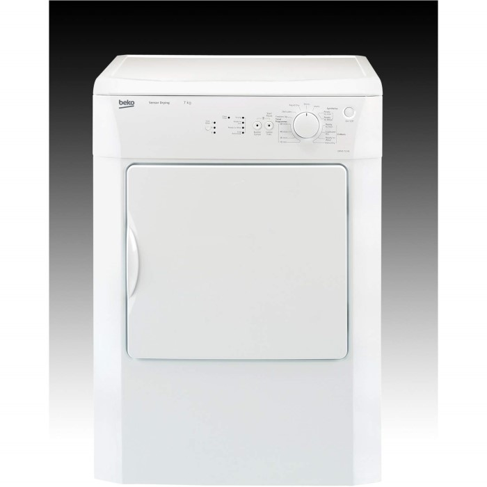 Beko DRVS73W 7kg Freestanding Vented Tumble Dryer