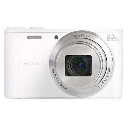 Sony DSC-WX350 White Camera Kit inc 8GB SD Card and Case