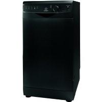 Indesit DSR15B1K 10 Place Slimline Freestanding Dishwasher - Black Best Price, Cheapest Prices