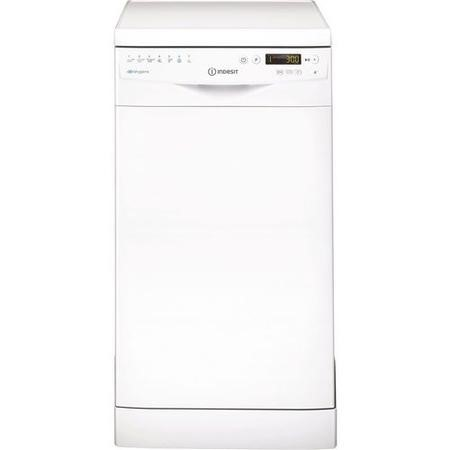 Indesit Extra DSR57M96Z 10 Place Slimline Freestanding Dishwasher with Quick Wash - White