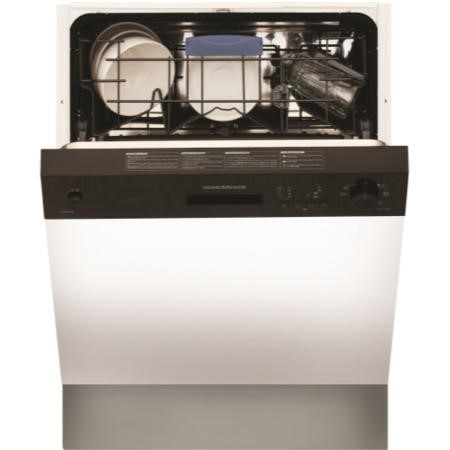 NordMende DSSN60BL 12 Place Semi Integrated Dishwasher - Black Control Panel