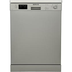 Servis DT6549S 12 Place Freestanding Dishwasher Silver