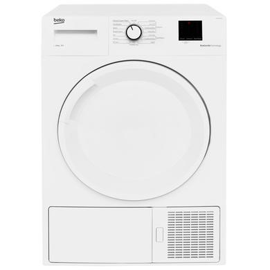 GRADE A1 - Beko DTBP10001W 10kg Freestanding Heat Pump Tumble Dryer - White
