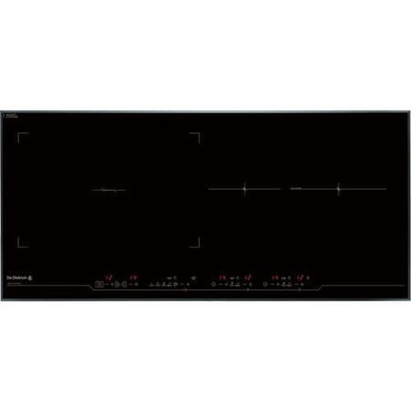 De Dietrich DTI1089V Slimline Bevelled Edge 90cm Wide Induction Hob With Continuum Zone