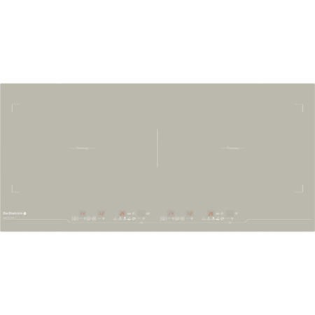 De Dietrich DTI1199GE 93cm Touch Control Zoneless Induction Hob Grey Pearl