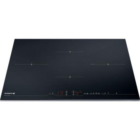 De Dietrich DTi1008X 78cm Wide Four Zone Induction Hob With Stainless Steel Trim