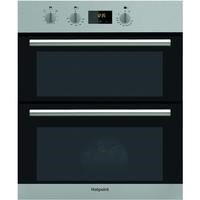 Hotpoint DU2540IX Luce Electric Built-under Double Oven Stainless Steel