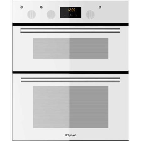 Hotpoint DU2540WH Luce Electric Built-under Double Oven White