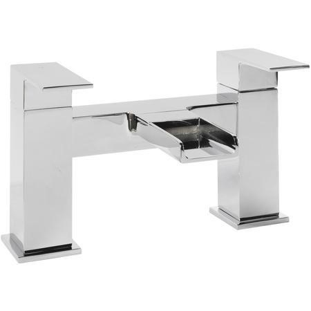 Atlas Modern Waterfall Bath Filler Tap