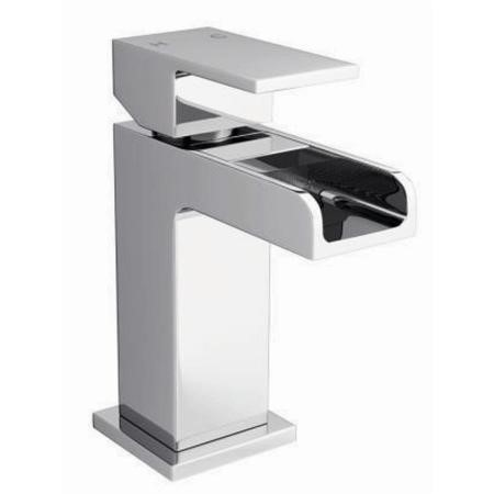 Atlas Waterfall Mini Mono Basin Mixer Tap & Waste