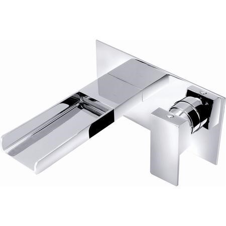 Atlas Wall Mounted Waterfall Bath Tap