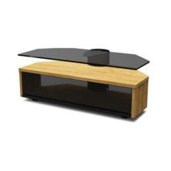 Off The Wall DUO 1000 OAK DUO OAK TV Cabinet - Up to 55 Inch