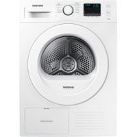 Samsung DV70F5E0HGW 7kg Freestanding Heat Pump Condenser Tumble Dryer White