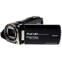 PRAKTICA DVC 5.10 Full HD Camcorder 10xZoom 3.0Touch Screen HDMICase UK Power