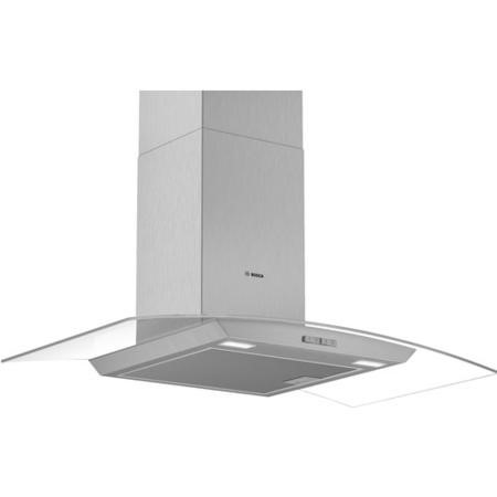 Bosch DWA94BC50B Serie 2 90cm Curved Glass Chimney Cooker Hood - Stainless Steel