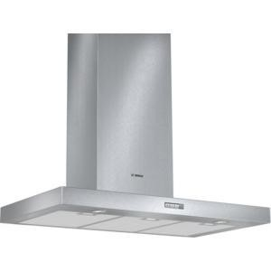 Bosch DWB094W50B Box Design 90cm Chimney Cooker Hood Stainless Steel