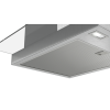 Bosch DWG66DM50B Serie 4 Touch Control 60cm Chimney Cooker Hood - Stainless Steel With Flat Glass Canopy