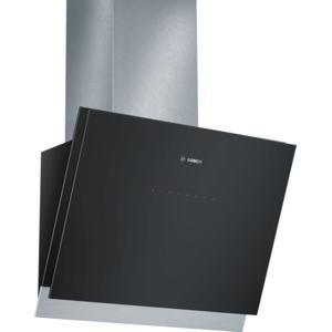 bosch dwk068g61b 60cm angled cooker hood black. Black Bedroom Furniture Sets. Home Design Ideas