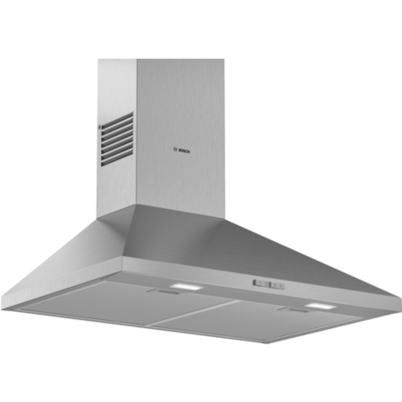 Bosch DWP74BC50B Serie 2 70cm Pyramid-style Chimney Cooker Hood - Stainless Steel