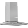 Bosch DWQ66DM50B Serie 4 60cm Low Profile Chimney Cooker Hood - Stainless Steel