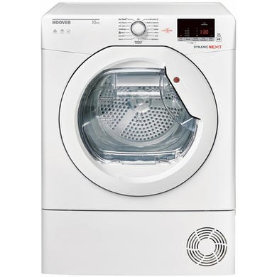 Hoover DXC10DE Dynamic Next 10kg Freestanding Conderser Tumble Dryer - White