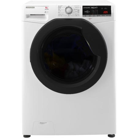 Hoover DXOA48AFN3 Dynamic Next Advance 8kg 1400rpm Freestanding Washing Machine With One Touch - Whi