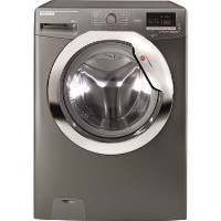 Hoover DXOC49AC3R Dynamic Next 9kg 1400 rpm Freestanding Washing Machine With One Touch And 14 Minute Wash - Graphite With Chrome Door