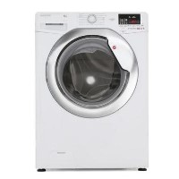 Hoover DXOC49AC3 Dynamic Next 9kg 1400rpm Freestanding Washing Machine With One Touch - White With Chrome Door