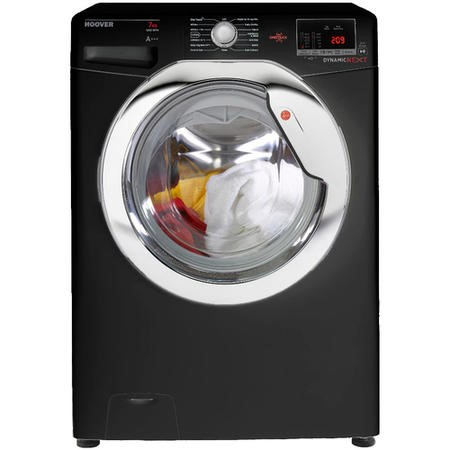 Hoover DXOC67C3B OneTouch 7kg 1600rpm Freestanding Washing Machine-Black