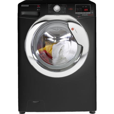 Hoover DXOC68C3B Dynamic Next 8kg 1600rpm Freestanding Washing Machine With One Touch - Black