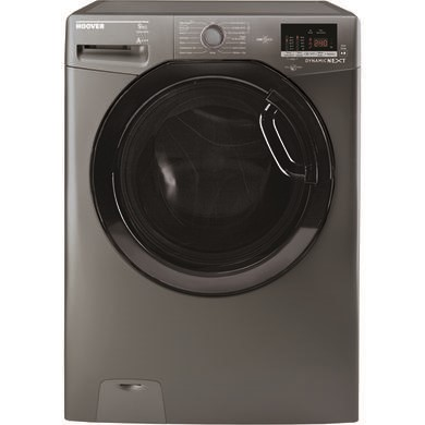 Hoover DXOC69AFN3R Dynamic Next 9kg 1600rpm Freestanding Washing Machine With One Touch And 14 Minute Wash - Graphite