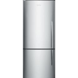 Fisher & Paykel E442BLX4 24101  68cm Wide Curved Door Left Hand Hinge Freestanding Fridge Freezer - EZKleen Stainless Steel